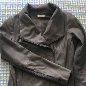 Vince Jackets & Coats - Vince scuba leather jacket